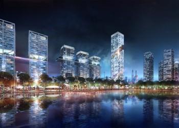 Bandar Malaysia - Night view
