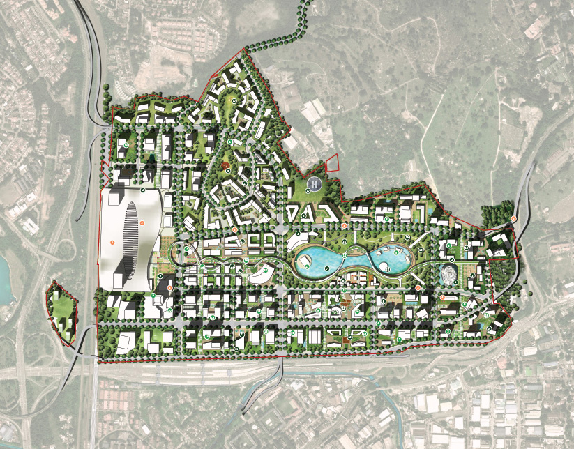 Bandar Malaysia - Master Plan